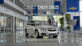2012 Chevy Cruze TV Spot, 'Sky Banner' - Thumbnail 8