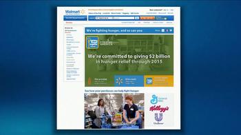 Walmart TV Spot, 'Hunger' - Thumbnail 8