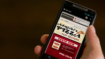 Motorola Droid Razr TV Spot, 'Pizza and Pitching Changes' - Thumbnail 8