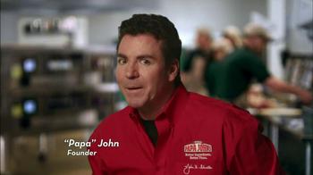 Papa John's Meatball and Pepperoni Pizza TV Spot, 'Taste of Italy' - Thumbnail 1