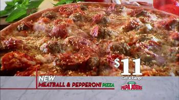 Papa John's Meatball and Pepperoni Pizza TV Spot, 'Taste of Italy' - Thumbnail 6