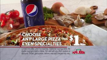 Papa John's Meatball and Pepperoni Pizza TV Spot, 'Taste of Italy' - Thumbnail 8