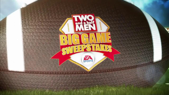 Two and a Half Men Big Game Sweepstakes TV Spot - Thumbnail 1