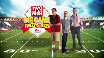 Two and a Half Men Big Game Sweepstakes TV Spot