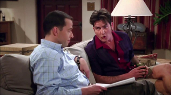 Two and a Half Men Big Game Sweepstakes TV Spot - Thumbnail 5