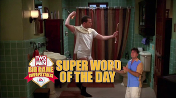 Two and a Half Men Big Game Sweepstakes TV Spot - Thumbnail 6