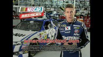 NASCAR Bashers TV Spot Featuring Carl Edwards