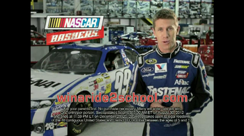 NASCAR Bashers TV Spot Featuring Carl Edwards