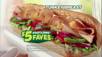 Subway Turkey Breast TV Spot Featuring Robert Griffin III - Thumbnail 8