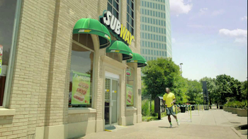 Subway Turkey Breast TV Spot Featuring Robert Griffin III - Thumbnail 6