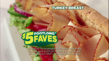 Subway Turkey Breast TV Spot Featuring Robert Griffin III - 4 commercial airings