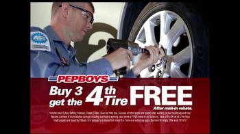 PepBoys Fall Tire Event TV Spot  - Thumbnail 1