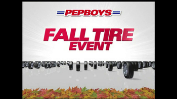 PepBoys Fall Tire Event TV Spot