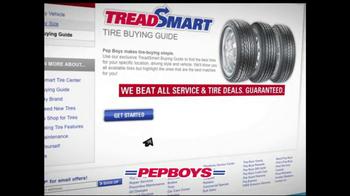 PepBoys Fall Tire Event TV Spot  - Thumbnail 4