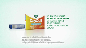 DayQuil Cold and Flu TV Spot, 'Sick Day' - Thumbnail 5