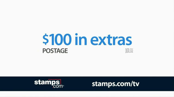 Stamps.com TV Spot '100 Extras' - Thumbnail 9