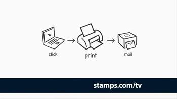 Stamps.com TV Spot '100 Extras'