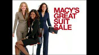 Macy's Great Suit Sale TV Spot - 36 commercial airings
