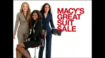 Macy's Great Suit Sale TV Spot - 36 commercial airings
