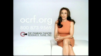 The Ovarian Cancer Research Fund TV Spot Featuring Andie MacDowell - 42 commercial airings