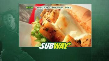 Subway Tuscan Chicken Melt TV Spot Featuring Ndamukong Suh - Thumbnail 1