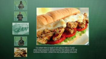 Subway Tuscan Chicken Melt TV Spot Featuring Ndamukong Suh - Thumbnail 4