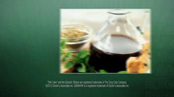 Subway Tuscan Chicken Melt TV Spot Featuring Ndamukong Suh - Thumbnail 7