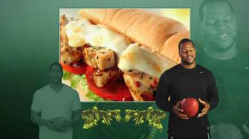 Subway Tuscan Chicken Melt TV Spot Featuring Ndamukong Suh - Thumbnail 8