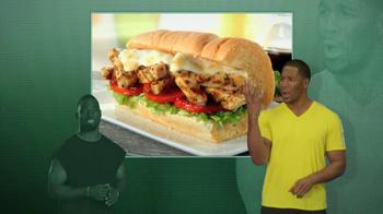Subway Tuscan Chicken Melt TV Spot Featuring Ndamukong Suh - Thumbnail 9