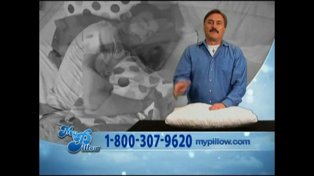 My Pillow Infomercial Ispot Tv