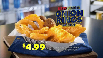 Long John Silver's Onion Rings TV Spot, 'Cryer' - Thumbnail 6