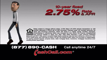Cash Call TV Spot, '10 Year Fixed' - Thumbnail 1