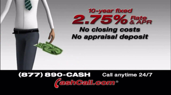 Cash Call TV Spot, '10 Year Fixed' - Thumbnail 3