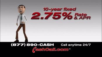 Cash Call TV Spot, \'10 Year Fixed\'