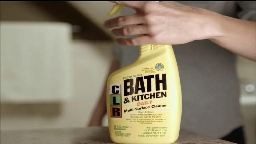 Clr Bath And Kitchen Tv Commercial Video
