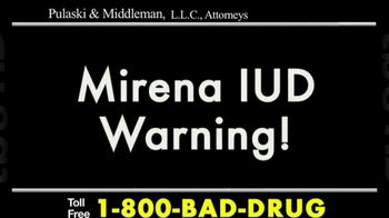 Pulaski & Middleman TV Spot, 'Mirena IUD' - Thumbnail 2