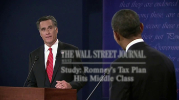 Obama for America TV Spot 'Romney's Tax Cut' - Thumbnail 8