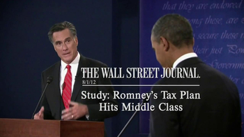 Obama for America TV Spot 'Romney's Tax Cut' - Thumbnail 9