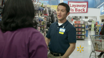 Walmart Layaway TV Spot, 'Getting Started' - Thumbnail 2