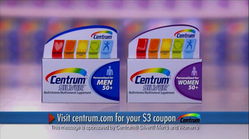 Centrum Silver Men's and Women's TV Spot, 'MediFacts'
