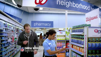 Walgreens DayQuil NyQuil TV Spot Featuring Drew Brees - Thumbnail 1