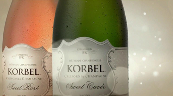 Korbel Sweet Cuvee, Sweet Rose TV Spot, \'Two Colors\'