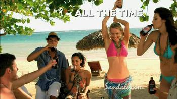 Sandals Resorts TV Spot, 'Let's Go' - Thumbnail 9