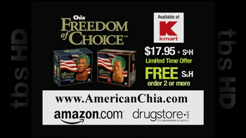 Chia Freedom of Choice TV Spot - Thumbnail 6