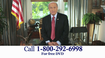 American Advisors Group TV Spot, 'Difficulties' Featuring Fred Thompson - Thumbnail 3