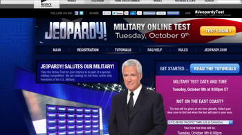 Jeopardy Military Guest Search TV Spot - Thumbnail 5