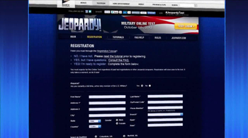 Jeopardy Military Guest Search TV Spot - Thumbnail 6