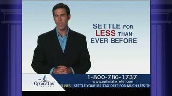 Optima Tax Relief TV Spot, 'IRS Forgiveness'