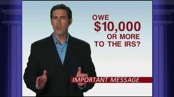 Optima Tax Relief TV Spot, 'IRS Forgiveness' - Thumbnail 1