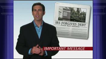 Optima Tax Relief TV Spot, 'IRS Forgiveness' - Thumbnail 2